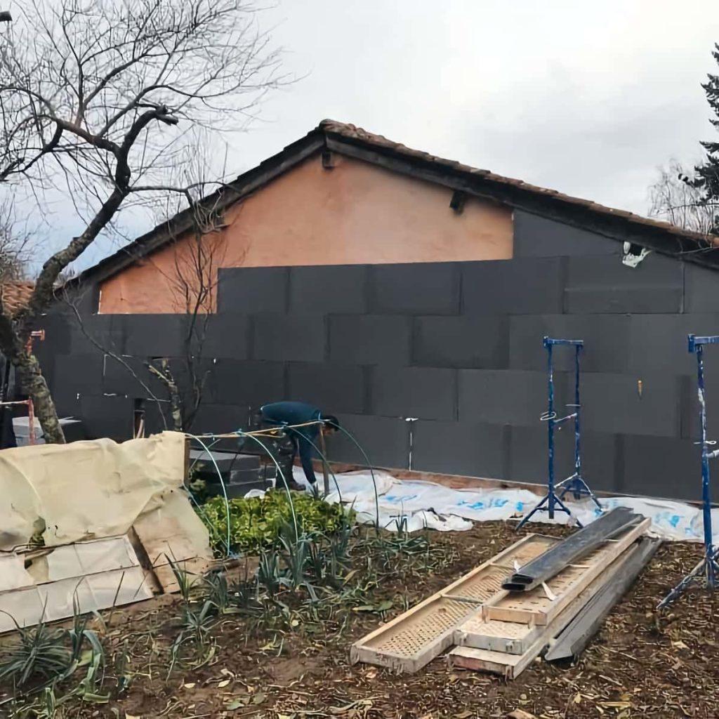 Isolation Thermique par l'extérieur de façade